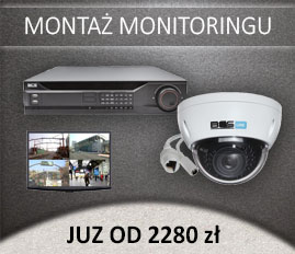 Montaż monitoringu