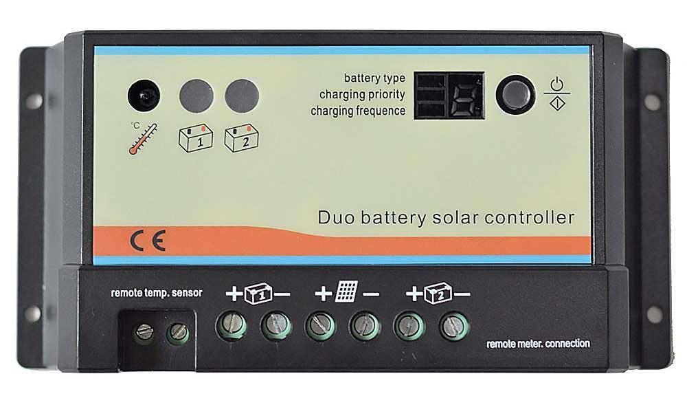 Regulator ładowania DUO 2 akumulatory